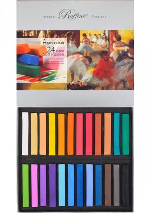 Пастель сухая Marco Raffine 7300 - 24 цвета