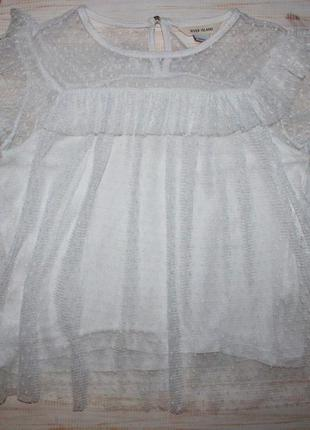Красивая блуза на 9-10лет river island