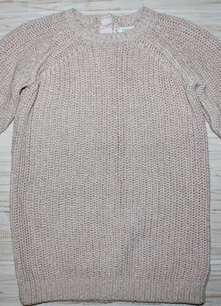 Вязаное платье с люрексовой нитью next на 2-3года
