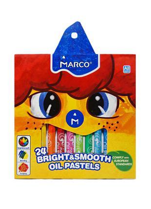 Пастель масляная Marco 1100 - 24 цвета (1100OP-24CB)