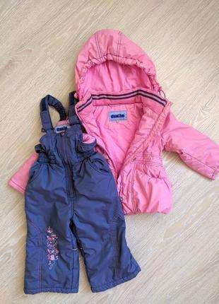 Демисезонный набор комбинезон с курткой