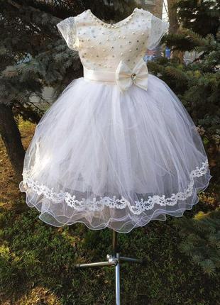 Бальное платье для ваших принцесс💓на рост 4-6лет