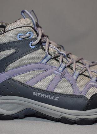 Кроссовки merrell calia mid gtx gore-tex трекинговые женские. ...