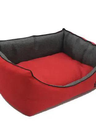 Будка для котов и собак Лофт Красный