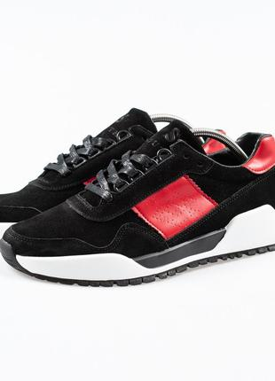 South army black white red, кроссовки мужские