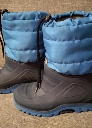 Распродажа 🔥 сапожки ботинки демисезонные утеплённые р. 28