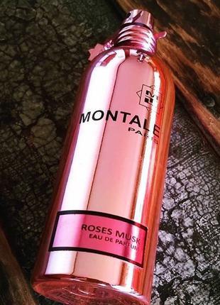 Montale  Roses Musk_Оригинал Eau de Parfum  10 мл