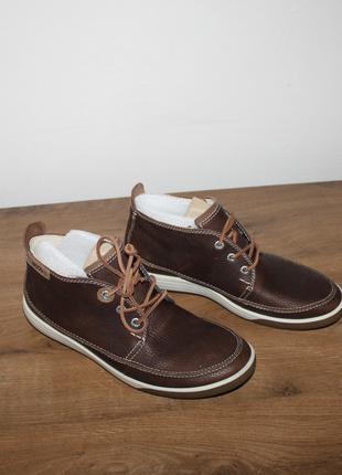 Кожаные ботинки Ecco Chase ii, 39 размер
