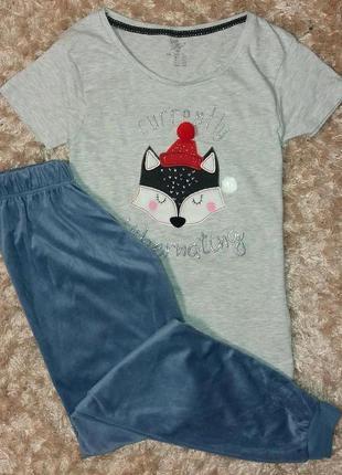 Пижама или комплект для дома английского бренда primark, анг. ...