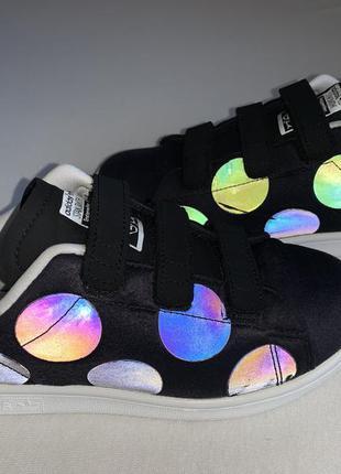 Мега стильные рефлективные  кроссовки adidas stan smith 👟 35 (...