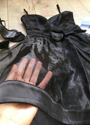 Шикарный сарафан , платье с шифоновым низом