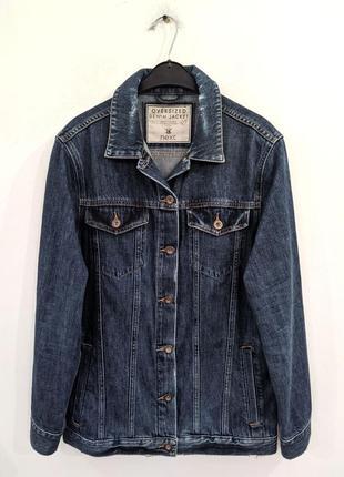 Куртка джинсовая удлиненная next