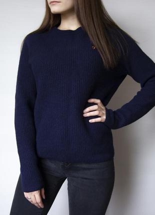 Шерстяной базовый свитер от farah