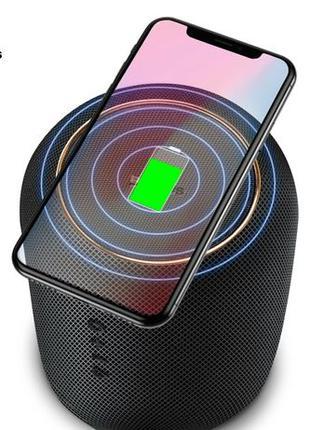 Портативная акустика Baseus E50 24W колонка с беспроводной зар...