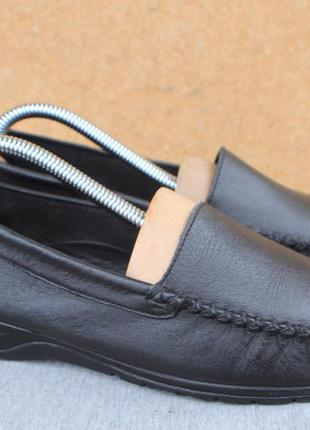 Туфли pediconfort кожа англия 38р лоферы мокасины
