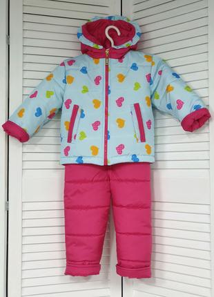 Детский костюм зимний на девочку