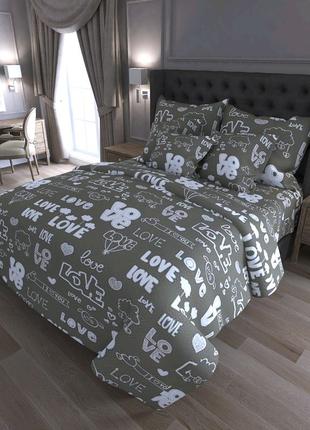 Двуспальный коплект постельного белья бязь-GOLD!