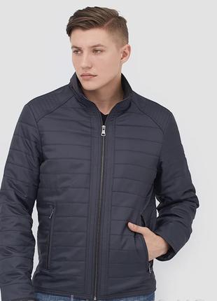 Демисезонная удлиненная мужская куртка (50-64рр)
