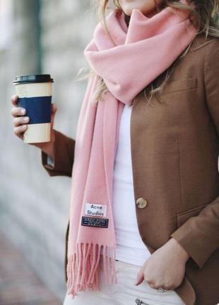 🌿 шарф зимовий теплий