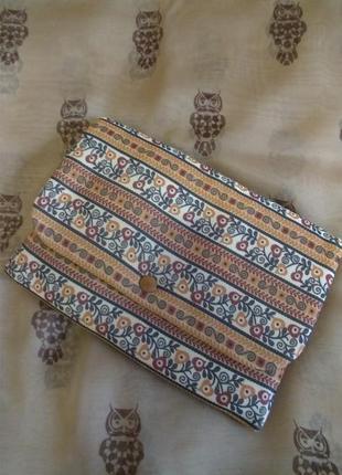 Сумочка клатч из ткани, hand made (england newey)
