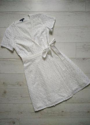 Красивое платье на запах оригинал р. xs, s