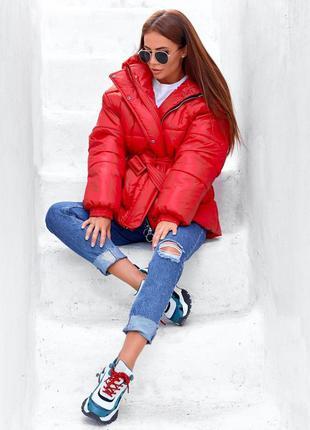 Курточка / куртка красная