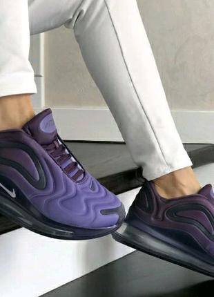 Женские Кроссовки Nike Air Max 720 фиолетовые