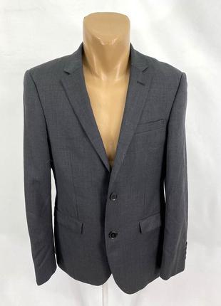 Пиджак стильный, фирменный dkny, шерсть