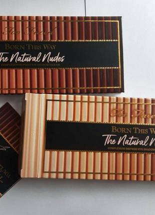Палетка too faced naturals nudes.оригинал