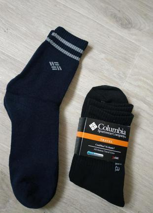 Мужские термо носки термоноски columbia теплые коламбия