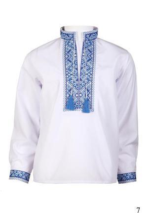 Вышиванка для мальчика вишиванка рубашка хлопчику детская прои...