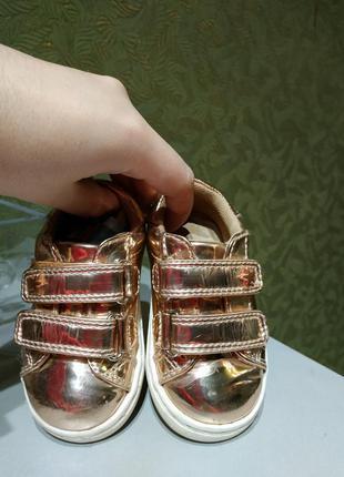 Next ботиночки демисезонные для принцессы