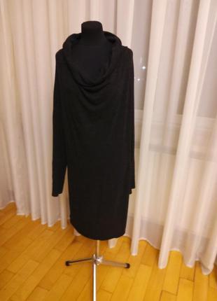Платье серое меланж трикотаж vero moda раз.xl 48-50