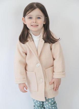 Стильне демісезонне пальто власного виробництва