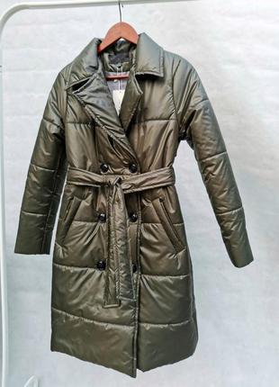 Тренч весенний куртка пальто демисезонное