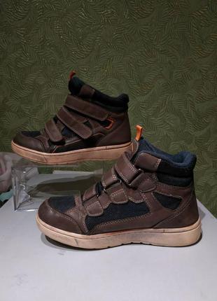 Демисезонные ботинки мужски 35р