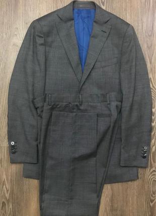 Мужской классический костюм двойка Suitsupply Италия