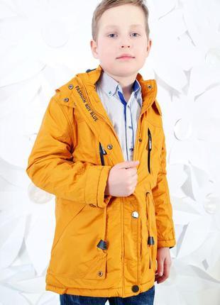 Ветровка куртка парка на мальчика весна осень 8-12 лет 128-152 р.