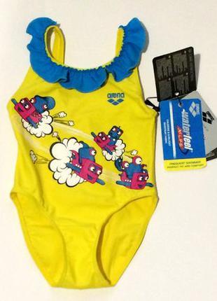 Фирменный детский купальник arena разм ( 1-2 года)