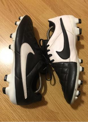 Бутсы Nike Tiempo GENIO Leather V FG (Сlassic)