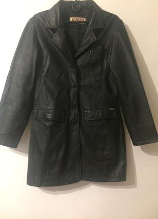 Jofama malung sweden кожаное пальто