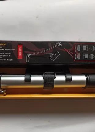 Насос вело ручной / напольный алюминиевый HONOR MP3128