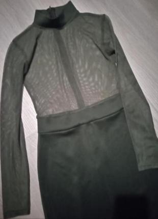 Идеальное платье хаки