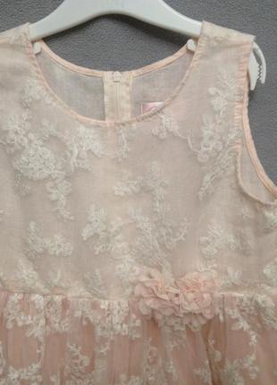 Нарядное платье popatu 8 лет