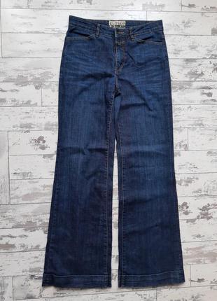 Closed синие джинсы с высокой посадкой