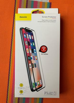 Baseus 0,2 mm Arc-surface Tempered glass iPhone XS Max