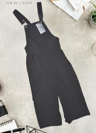 Черный новый комбинезон new look
