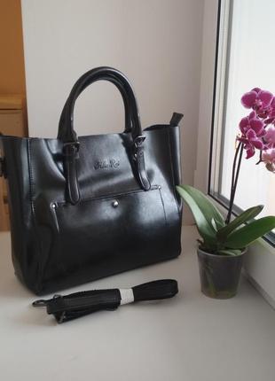 Женская кожаная сумка жіноча шкіряна сумка