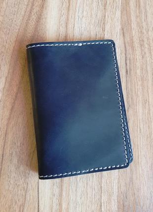 Black brier кожаная обложка для документов с отделениями для карт