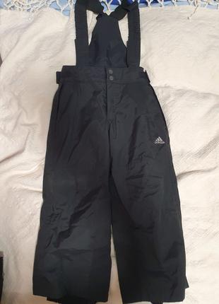 Лыжные штаны  адидас